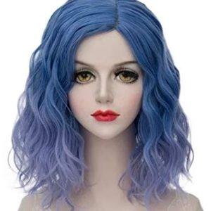 Accessories - Ombré blue wig